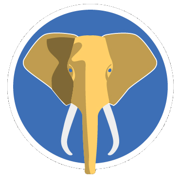 ipro elephant mini circle logo